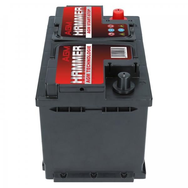 AGM Batterie Starterbatterie GEM 12V 70Ah 760A//EN