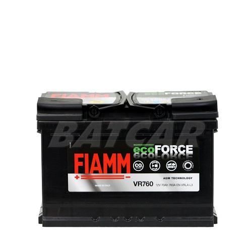 fiamm eco force 12v 70ah 760a en autobatterien shop agm batterien. Black Bedroom Furniture Sets. Home Design Ideas