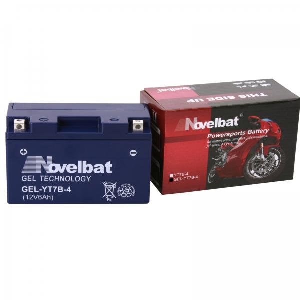novelbat yt7b 4 12v 6ah shop motorradbatterie. Black Bedroom Furniture Sets. Home Design Ideas