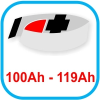 Von 100 bis 119 Ah