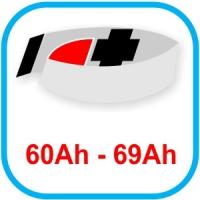 Von 60 bis 69 Ah
