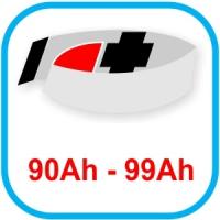 Von 90 bis 99 Ah